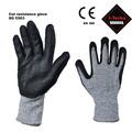 calore e guanti resistenza al taglio sicurezza nitrile guanti rivestiti