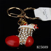 Hot Sale Fashion Boots Keychain Red Shoe Keychain