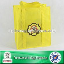 Lead-free Non woven Clear Logo Printing Slogan Printing Bag