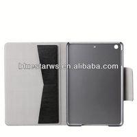 folding leather case for ipad mini 2 pu leather case