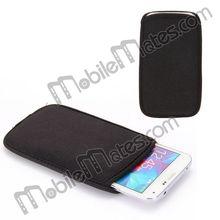 Soft Universal Cloth Pouch Case for Samsung Galaxy S5 I9600 i9082 i9080
