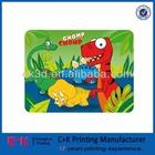 High quality cheap fashion fun cute dinosaur design 3D plastic PP/PET placemat/ table mat for children kid table mat
