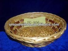 Oval cesta de mimbre bandeja, Bandeja de la cesta FG-956