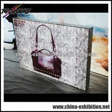 frameless aluminum advertising display light box