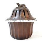 Bronze Material Money frog Incense Burner,decorative Incense Burner