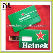 Top Sale High Quality Promotional custom credit card shape usb flash drive usb card