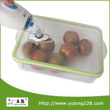 2L Large Food Grade Transparent Vacuum Food Container
