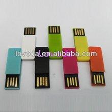Hard Plastic Office Paper Clip Thumb Drive Usb Flash Memory LFN-031