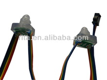 DC12V RGB dump node;100pcs a string;injection type;IP68;with epoxy resin filled