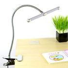 UL CE marked LED desk lamp , eye protection clip lamp, USB Port LED Clip table lamp