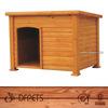 Custom Waterproof Wooden Dog Crate DFD025