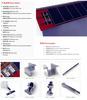 Solar Panel System (Aluminum frame, rail, bracket, nuts, screws)