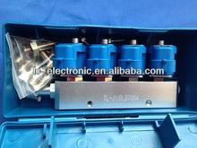 Cng ngv kits de conversión 8cyl. Gas LPG CNG inyector del carril, Gnc y el glp Rail de inyección
