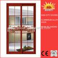 Personalizado de alumínio roupeiro porta de vidro design sc-aad042
