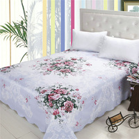 High quality 100%polyester home dyed/printed bedding fabric wide