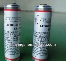aa size 3.6v high temperature downhole li/socl2 battery