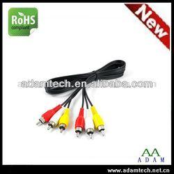 China supplier Tricolor VGA RCA cable