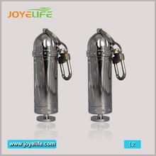 in acciaio inox 10ml vuoto bottiglia di liquido per la sigaretta elettronica