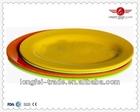 melamine dinnerware set/plastic plates that look like china