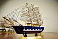Artesanato em madeira decoração barco barco de vela de madeira artesanato