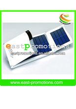 new model portable gift high capacity solar folded power bank12000mah
