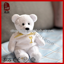 New plush toy for valentines day birthday wholesale decoration animal plush holy bear stuffed toy white bear