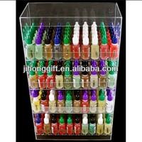 clear acrylic e-cigarette display stand/e-liquid display case/e liquid bottle display