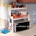 Baoyouni brevettato pp cremagliera in plastica mensola della cucina per forno a microonde bottiglie di spezie rack dq-1305 c1