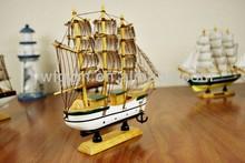 bán buôn nhỏ bằng gỗ thuyền buồm bằng gỗ bot đồ chơi trẻ em