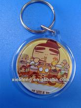 Fashion design blank photo frame key chain
