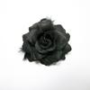 Fashion! Black rose flower hair pin hair accessory