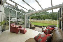 aluminium glass sunroom for solarium High quality