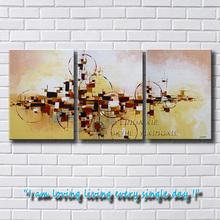 beautiful design handmade 3 panel canvas wall art