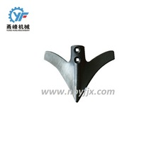agricultural machinery parts cultivator steel shovel