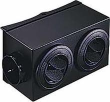 FLEX-A-LITE Mojave heater plenum directional control box 650