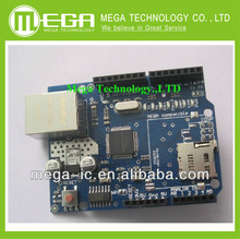 10pcs/lot New FOR-W5100 R3 Ethernet W5100 R3 for arduino network expansion board support MEGA, ( W5100 R3 )