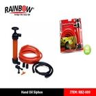 RBZ-009 Brass/Plastic Self-Prime Hand Pump, Purge Boat Sump, Move Diesel/Gas, Change Oil