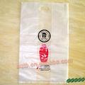 de plástico transparente morir bolsas de corte para el embalaje del vino