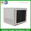 YX-WM03-15u Aluminium/galvanized/stainless steel Wall mount elctrical network cabinet/Box/ enclosure Customized