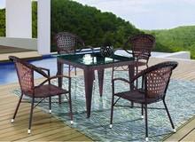 Slate Table Top and High Top Cocktail Metal Coffee Table Set,high top cocktail tables,Outdoor Metal Table