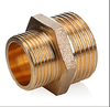 "F 3/4*1/2 Reducing direct brass pipe fitting nipple M 1""*1/2 Extension sub"
