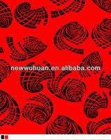rayon print fabric, rayon discharge print fabric