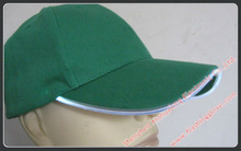led hats shine flash cotton baseball black cap