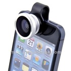 Hot sale mobile phone clip fisheye lens for iPhone 4 4G 4S 5