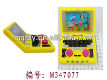 Novetly plastic computer water game toy for kid water machine new product summer toy Made in china outdoor toy
