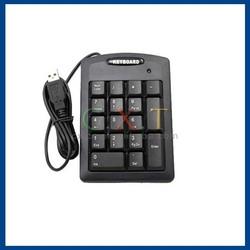 USB Mini Keyboard for Laptop Notebook (Black)