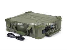 Portable lightweight briefcase soalr generator