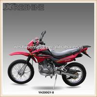 air cooled 200cc Off Road dirt bike cheap motocicleta