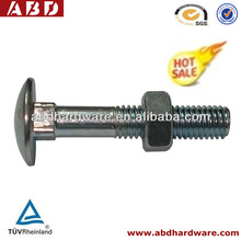Screws & Fasteners Carriage Bolt very popular in the world