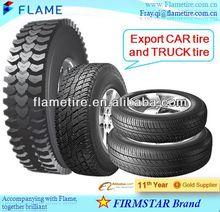 top quality FIRMSTAR Brand CAR tire(PCR)& TRUCK tire(TBR) with DOT,ECE,CCC / 3C,INMETRO,REACH,S-MARK,EU-LABEL certificates